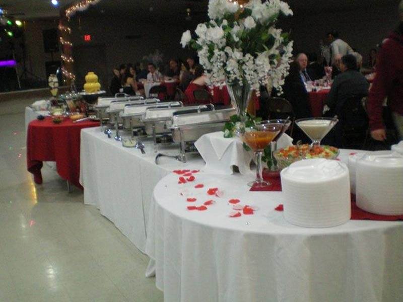 Buffet Ready To Serve.